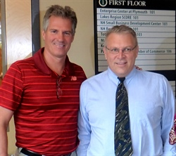 Senator Scott Brown visits Keene Systems